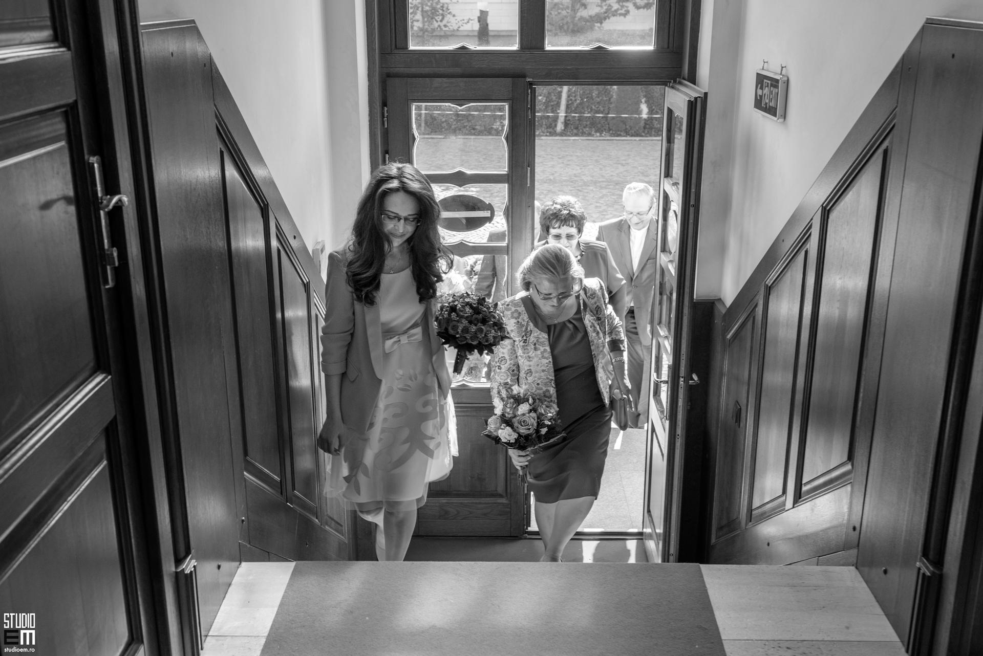 Fotografie cununie civilă Simona și Constantin